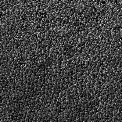 Tekstil 582 Leather Look Black