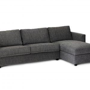 Hovden Extra 140 sjeselong - Tekstil: Emma grey