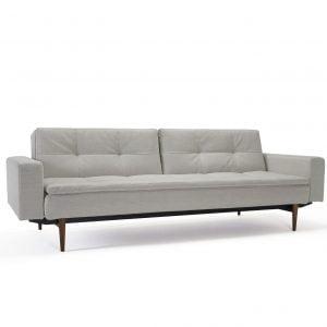 Dublexo sofa med armlen styletto ben fargekode 527
