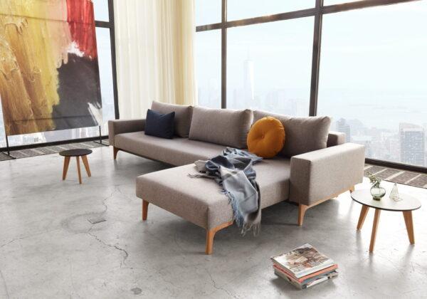 Innovation Idun lounger - 521 Mixed Dance grey