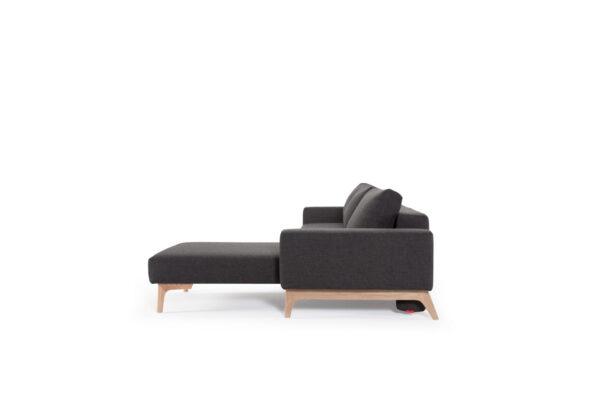 Innovation Idun lounger - 577 Kenya Dark Grey