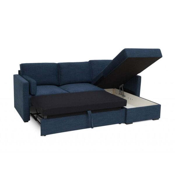 Modern Sleeping Sofa Scandinavian Style Softnord utslått